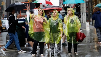 Rain, Thunderstorms Clear for a Dry and Sunny Wednesday