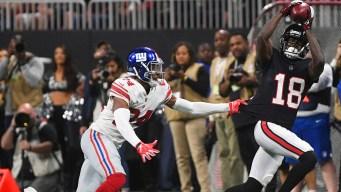 Matt Ryan Throws for 379 Yards, Falcons Beat Giants 23-20