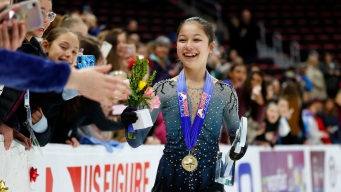Alysa Liu, 13, Becomes Youngest US Women's Figure Skating Champion