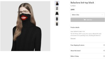 NYC Designer Gives Update on Gucci 'Blackface' Sweater Saga