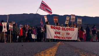 Hawaii Expands Power to Block Telescope Protesters