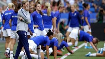 Ellis Content to Get Off US Women's Soccer 'Roller Coaster'