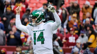 Adams, Darnold Lead Jets to 34-17 Victory Over Redskins