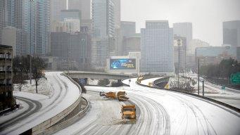 Winter Storm Takes Aim at Super Bowl Host Atlanta Tuesday