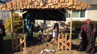 Controversial 'Zombie Nativity' Vandalized in Ohio