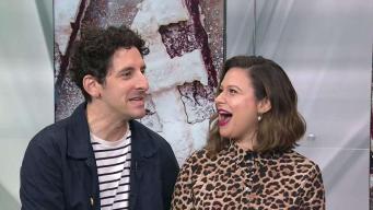 Katie Lowes and Adam Shapiro Dish on 'Waitress'