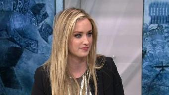 "Ashley Johnson Talks ""Blindspot"""
