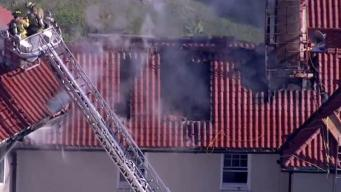 Firefighters Battle Blaze at Chappaqua Mansion