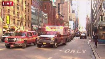 Bomb Detonated in Port Authority Bus Terminal Passage