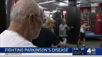 Boxing Therapy for Parkinson's Patients at Famed NYC Gym