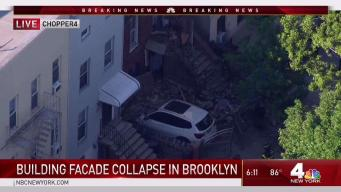 Building Facade Collapses in Greenpoint