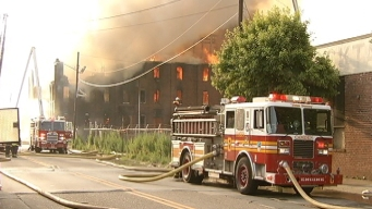 Third Major Fire Burns in Camden
