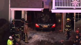 Car Smashes Into Home at Senior Housing Complex