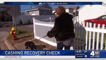 Cashing Sandy Recovery Check