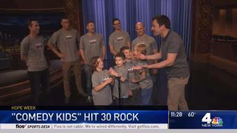 Comedy Kids Hit 30 Rock for Yankees Hope Week