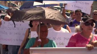 Communities Picket for Power in Puerto Rico