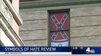 Complaints Over Confederate Flag Hanging in NYC Window
