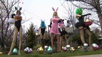 Defiant NJ Dentist Revives Racy Easter Show Woman Destroyed