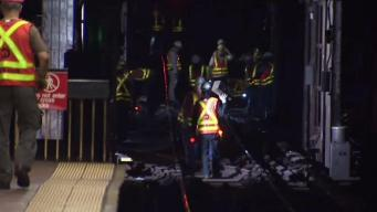 Crews Still Making Repairs After NYC Subway Train Derails