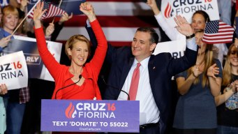 Ted Cruz Names Carly Fiorina as Running Mate