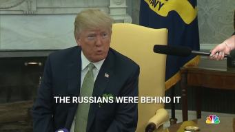 Trump: Russians Carried Out Nerve Agent Poisoning