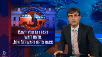 """The Daily Show"" Says No to 2016 Presidential Buzz"