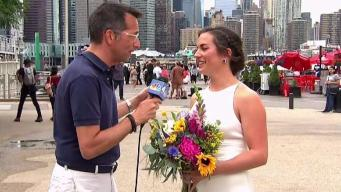 Dave Price Catches Bride on Beautiful Day for a Wedding