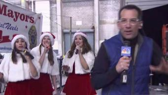 Dave Price Goes Live at JFK for 'Operation Santa Claus'