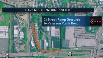 Dreaded Work on Route I-495 in NJ Begins