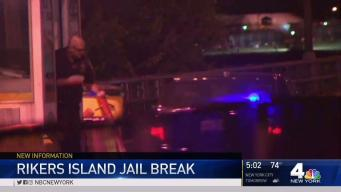Escaped Rikers Inmate Found 8 Hours Later