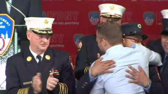 FDNY Rescuers Reunite With Those They Saved