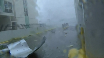 Dramatic Footage Captures Maria Devastation in San Juan