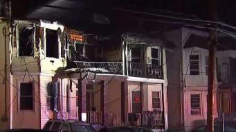 Fire Still Burning Hours After Ravaging NJ Home