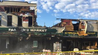 Fire at Queens Grocery Store Hurst 12: FDNY