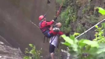 Firefighter Speaks Out About Risky NJ Waterfall Rescue