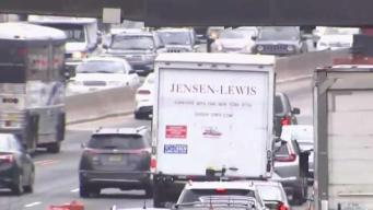 First Big Test as 495 Work Begins and Commuters Hit the Road