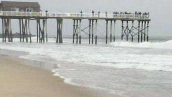 Fishing Pier Replaced After Sandy Now Damaged by Jose
