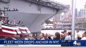 Fleet Week Drops Anchor in NYC
