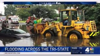 Flooding Wreaks Havoc Across Tri State