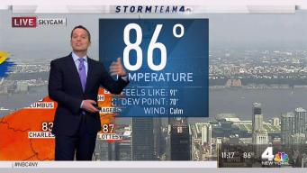 Forecast for Monday, Aug. 6