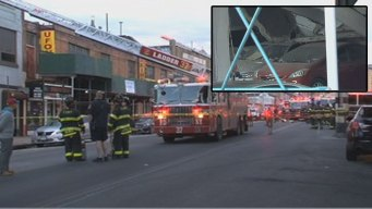 NYC Garage Collapses; Crushes, Topples Cars: Officials
