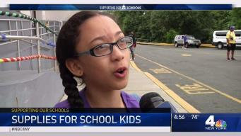 Getting School Supplies to Youngsters in Need