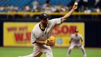 Yanks' Sabathia Banned 5 Games for Hitting Batter, Appeals