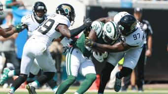 Bortles Tosses 2 TD Passes, Jags Handle Darnold, Jets 31-12