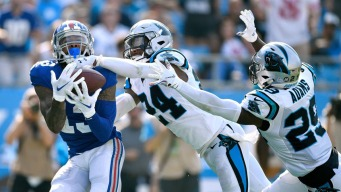Gano's 63-Yard Field Goal Lifts Panthers Over Giants 33-31