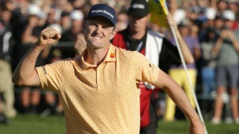 Top-Ranked Justin Rose Wins Farmers Insurance Open
