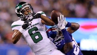 Daniel Jones Throws TD in Only Series, Giants Beat Jets