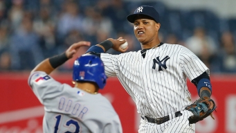 Yankees Fall to Texas Rangers 7-1