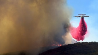 Firefighters Slow Sand Fire's Spread in SoCal, Most Evacuations Lifted