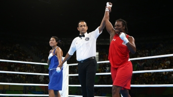 Boxer Shields Dominates Semifinal to Reach Gold Medal Match